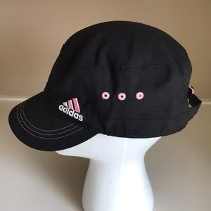 Adidas hat cap black adjustable back